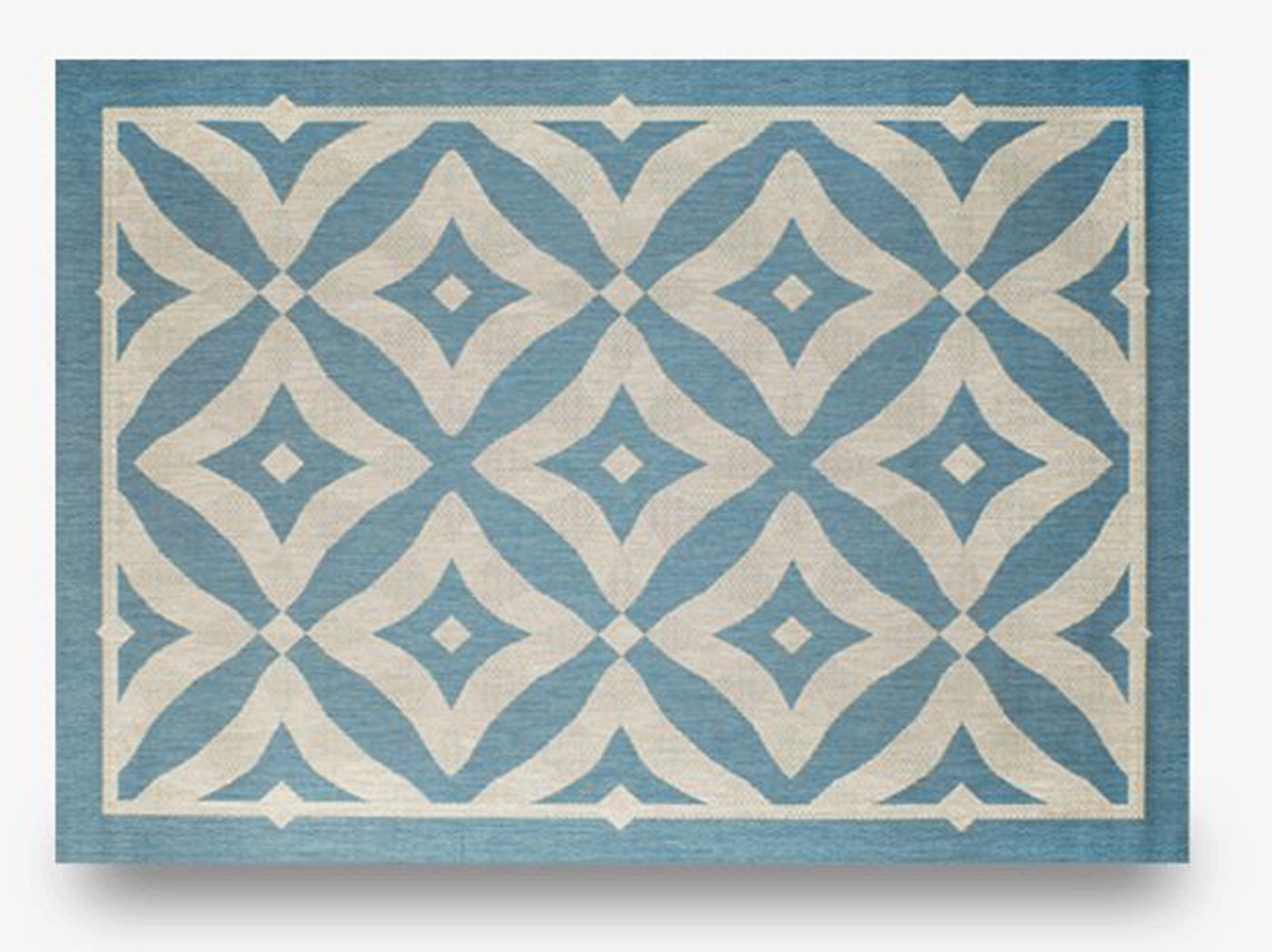 "Charleston Spa 7'10""X 10' Patio Area Rug"