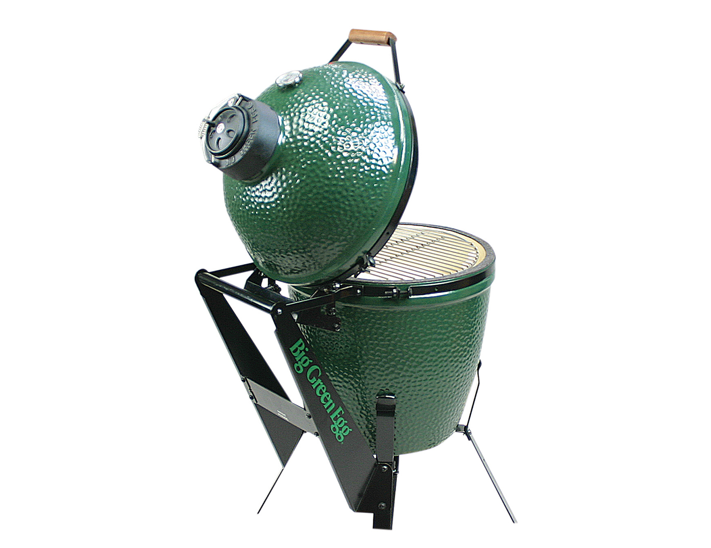 Big Green Egg Large Nest with Casters and Handler