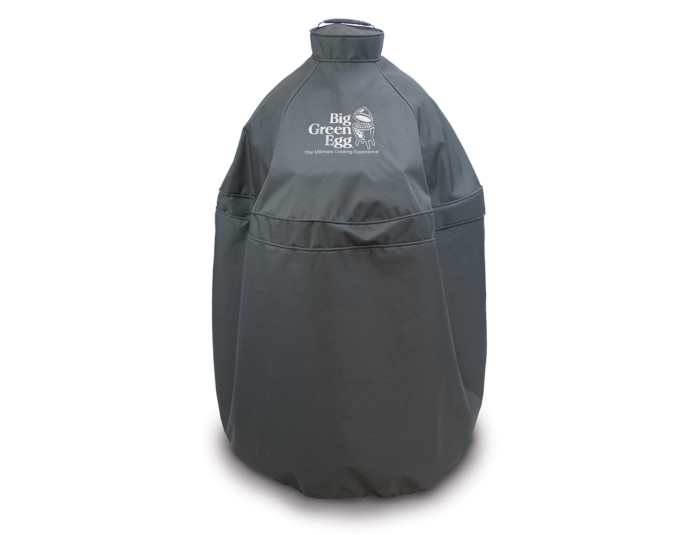 Big Green Egg Black Cover for Medium Egg in Nest