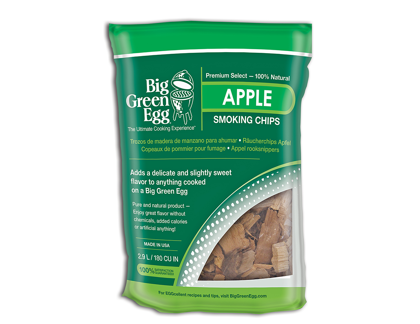 Big Green Egg Apple Smoking Chips