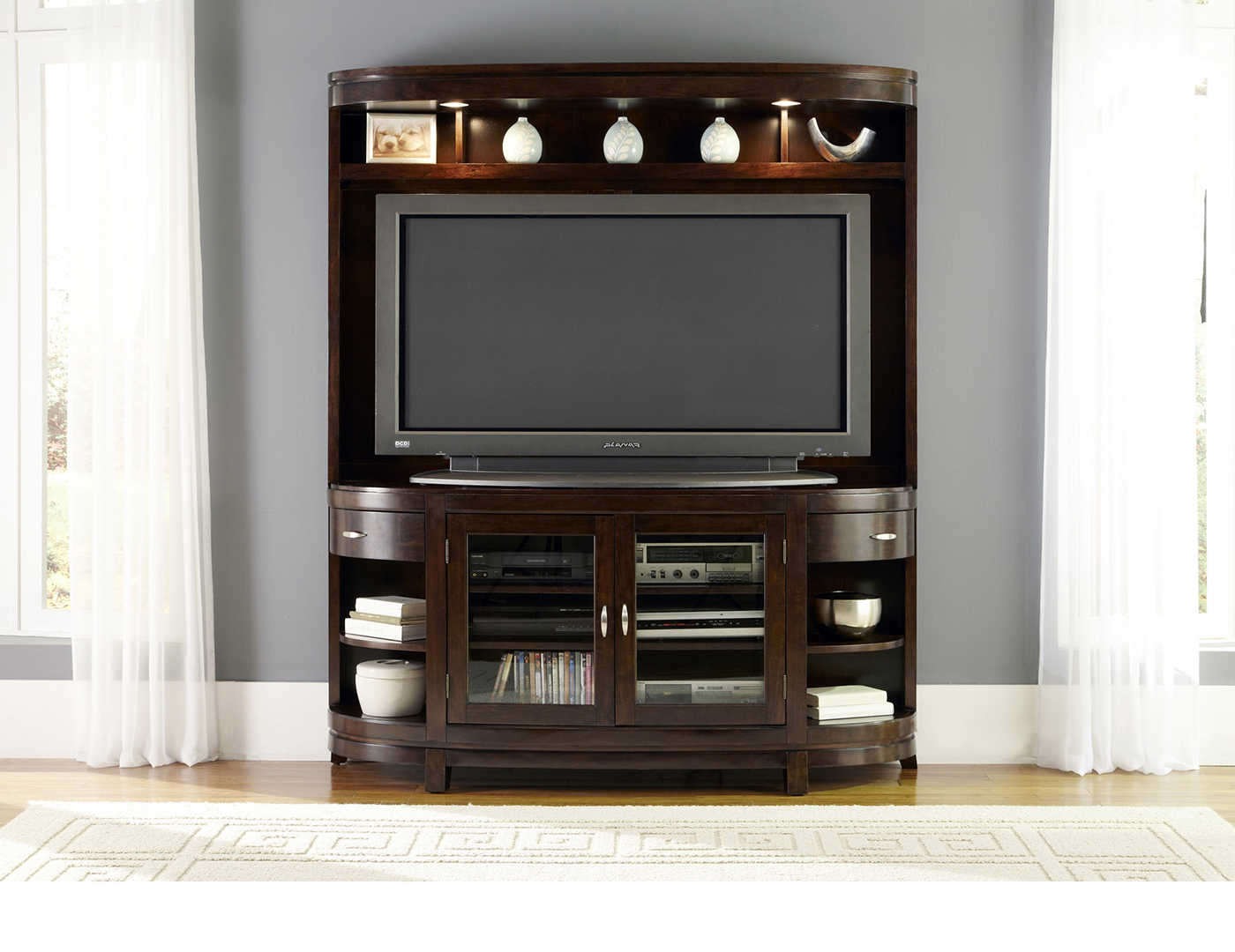Avalon Entertainment Console & Hutch