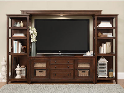 Chocolate Entertainment Center