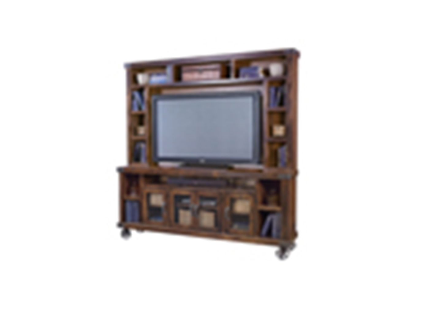 "Industrial Tobacco Hutch for 84"" Console"