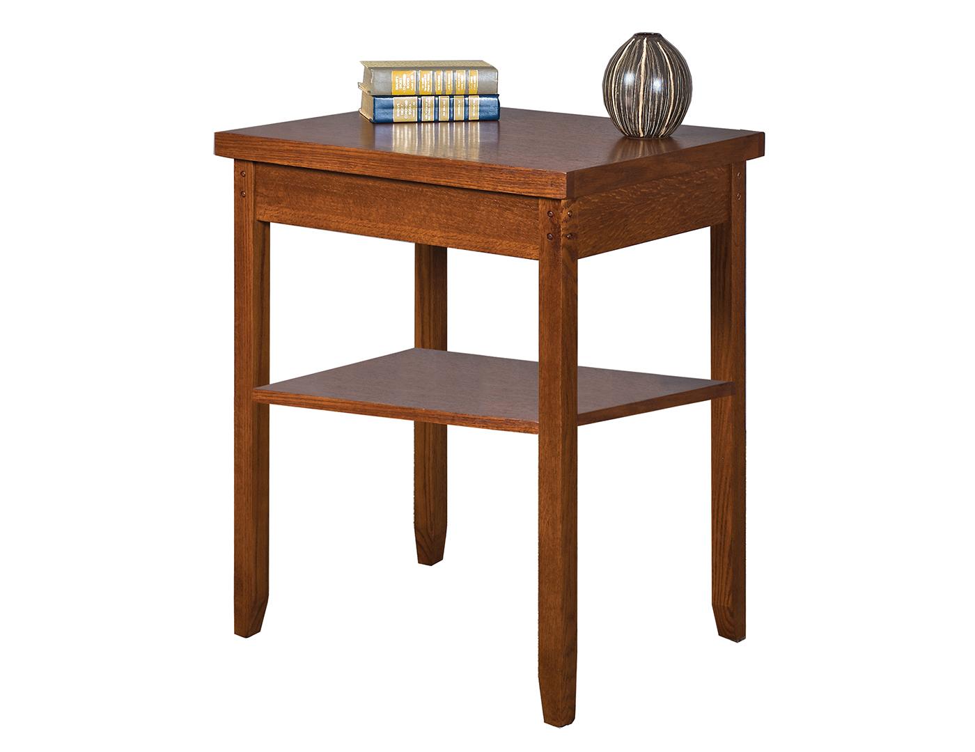 Mission Pasadena Office Corner Table | Steinhafels