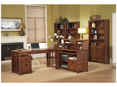 Mission Pasadena 3-pc. Office Set