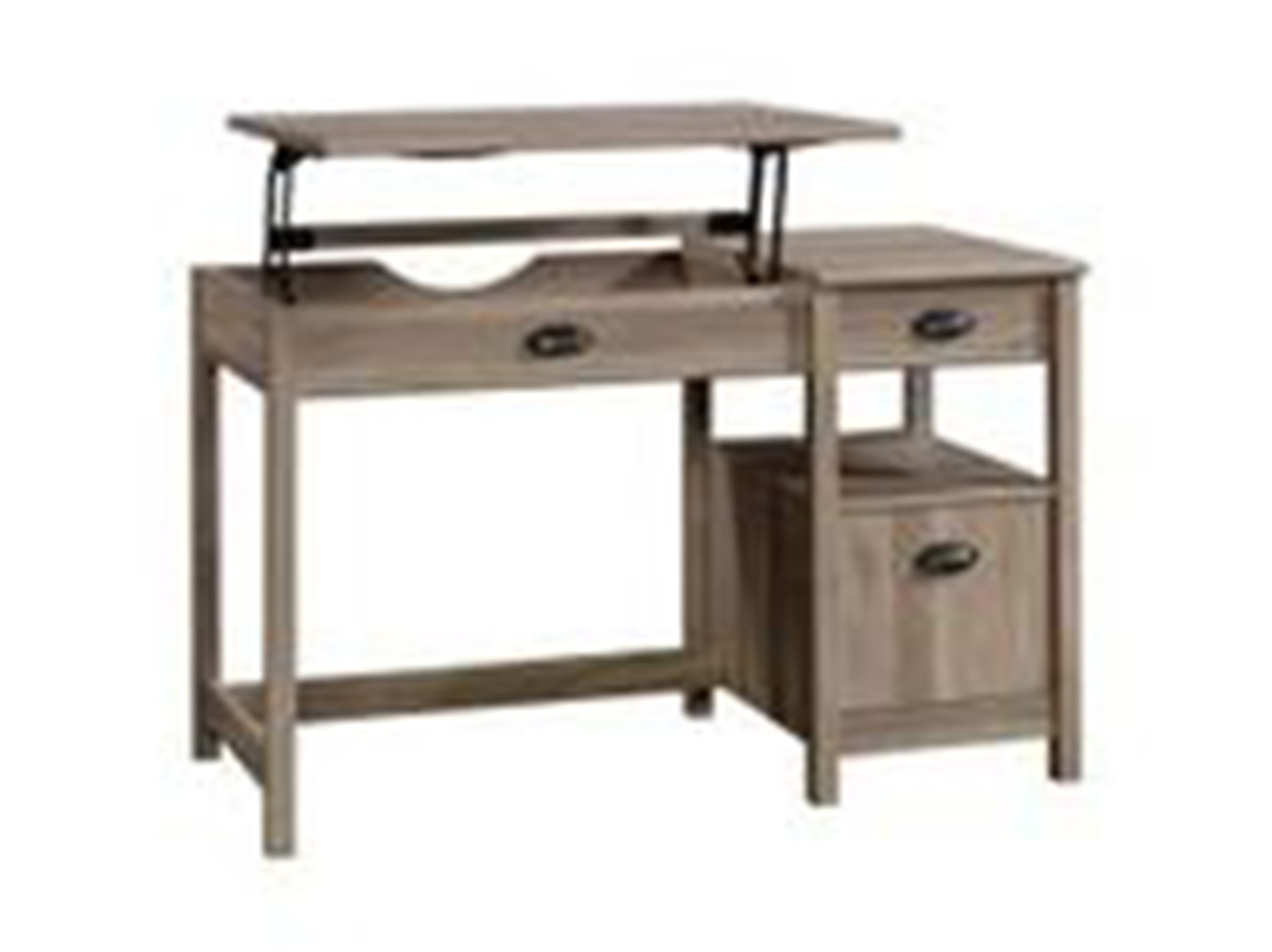 Harbor View Manual Adjustable Sit and Stand Desk