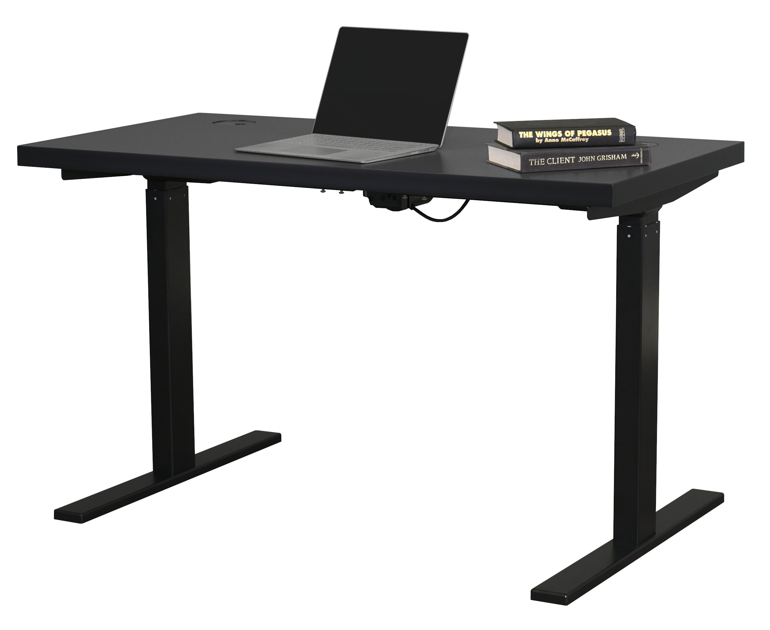 Streamline Black Electric Sit and Stand Desk