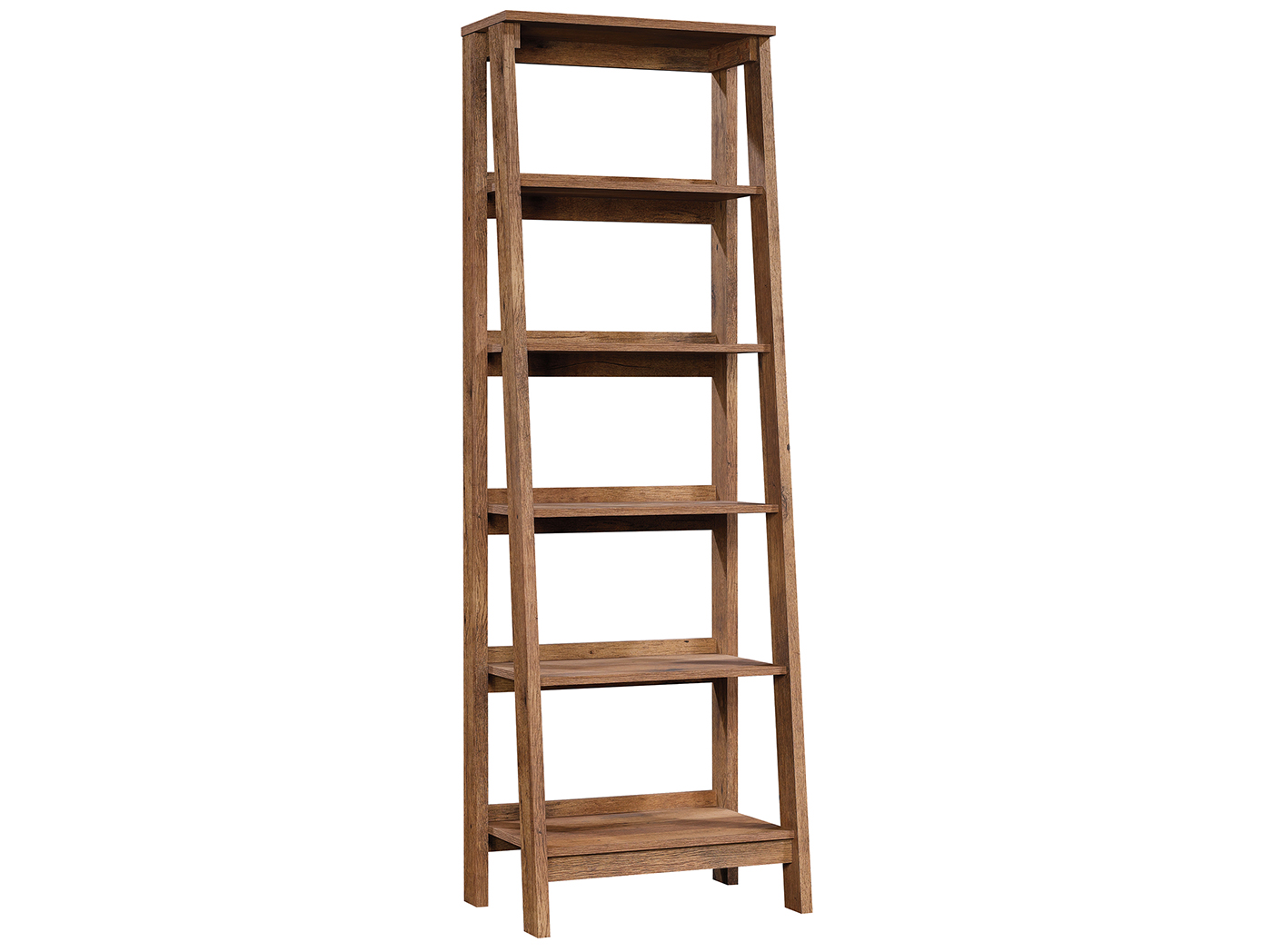 Trestle Leaning Bookcase