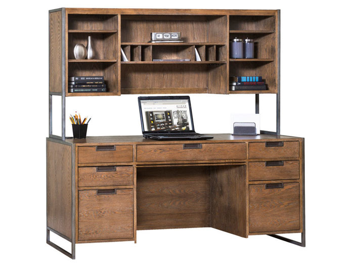 Belmont Credenza and Hutch