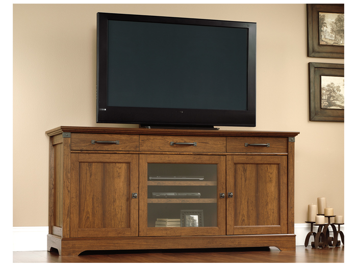 "Carson Forge 72"" Entertainment Console"