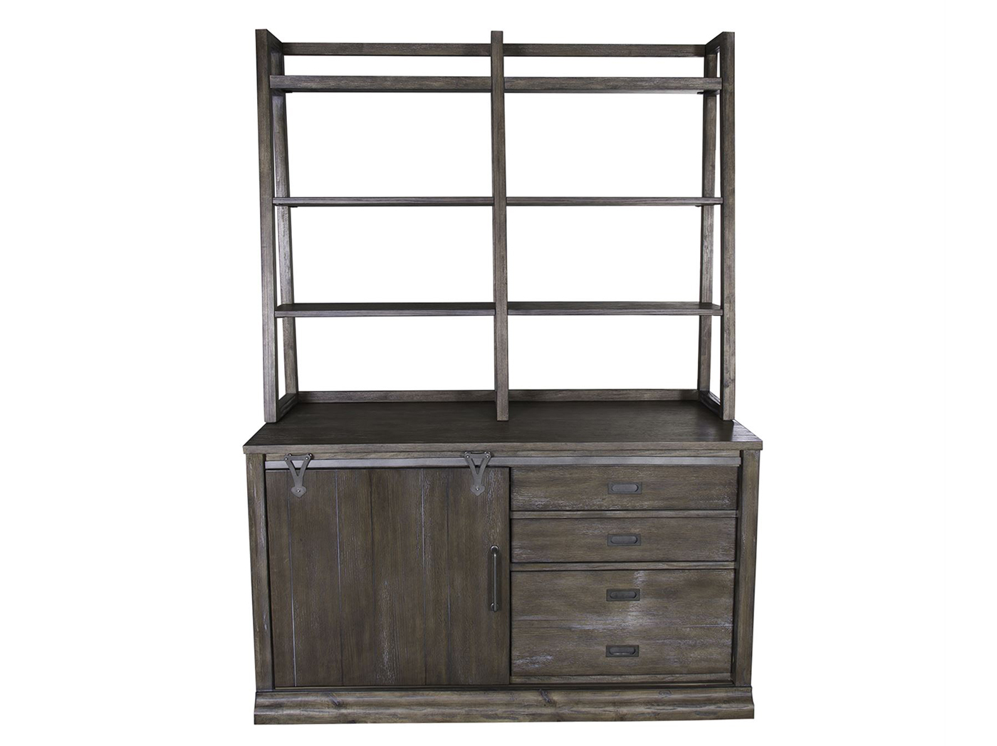 Stone Brook Credenza with Hutch