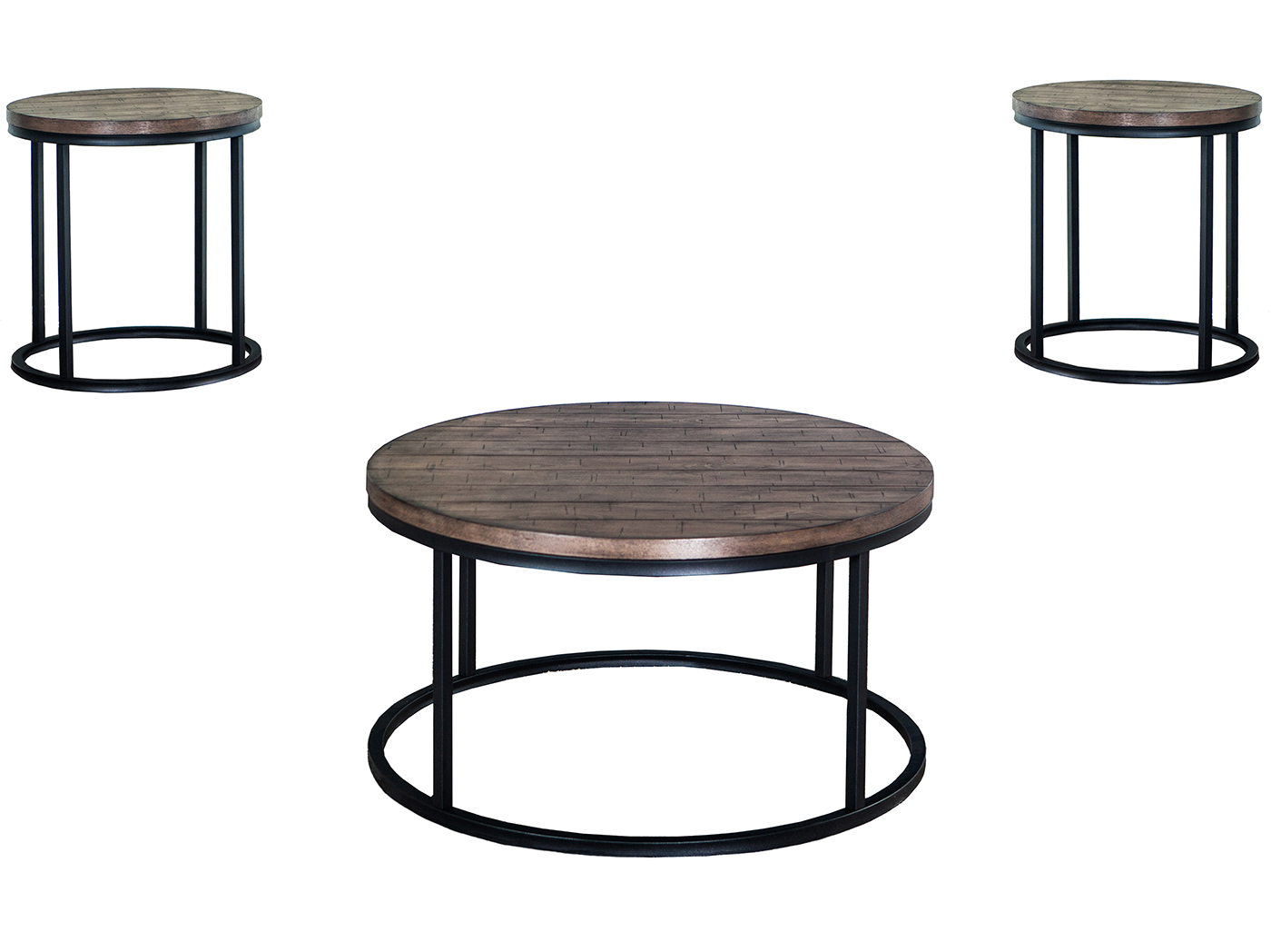 William Set of Three Tables