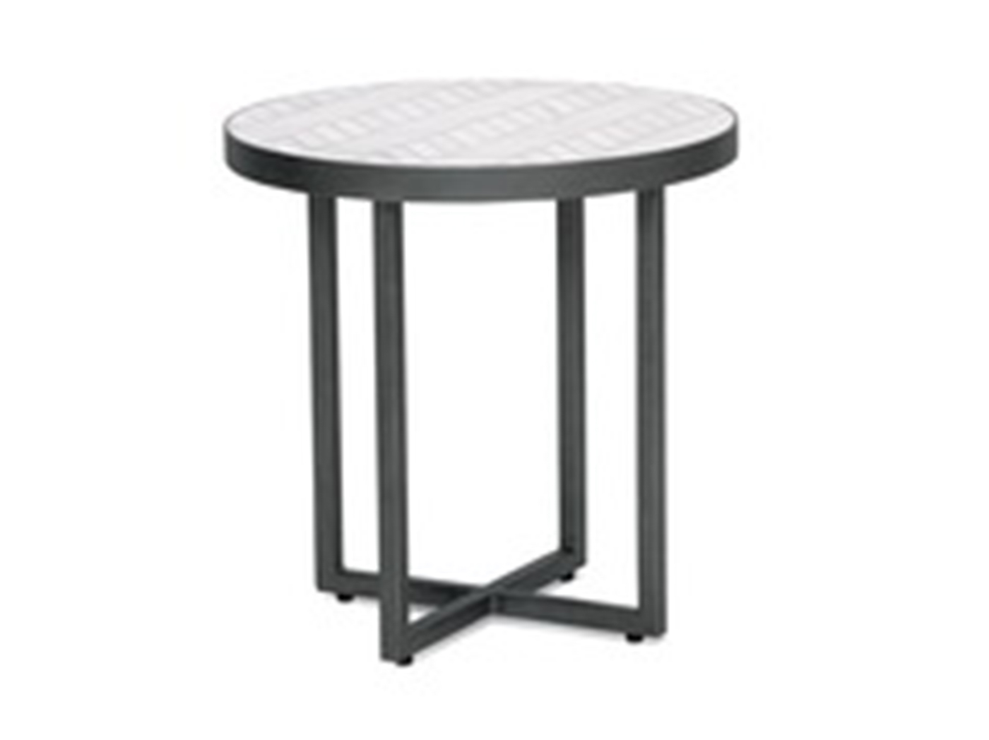 Juneau Round End Table