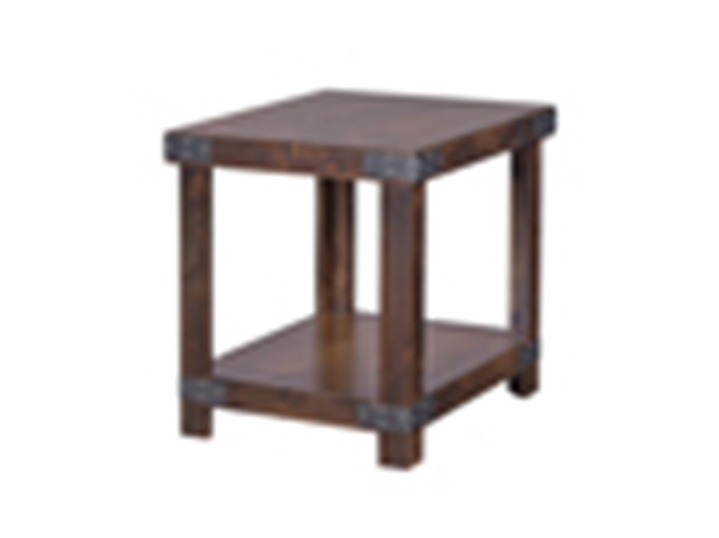 Industrial Tobacco End Table