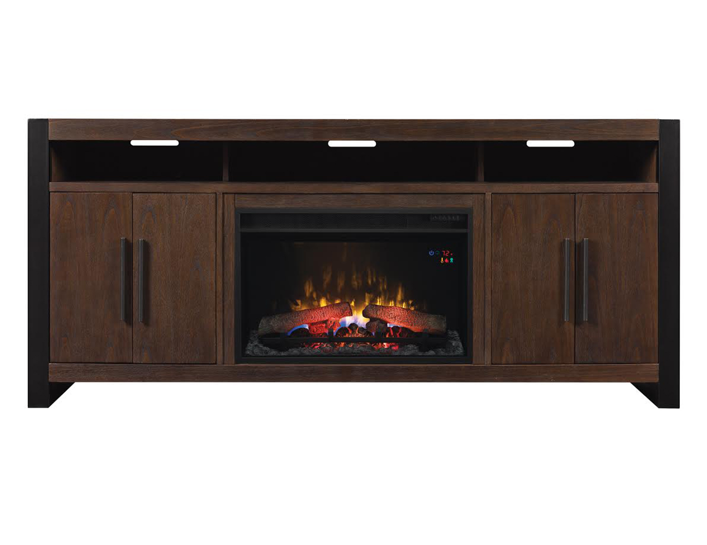 "Costa Mesa 72"" Glass Fireplace"