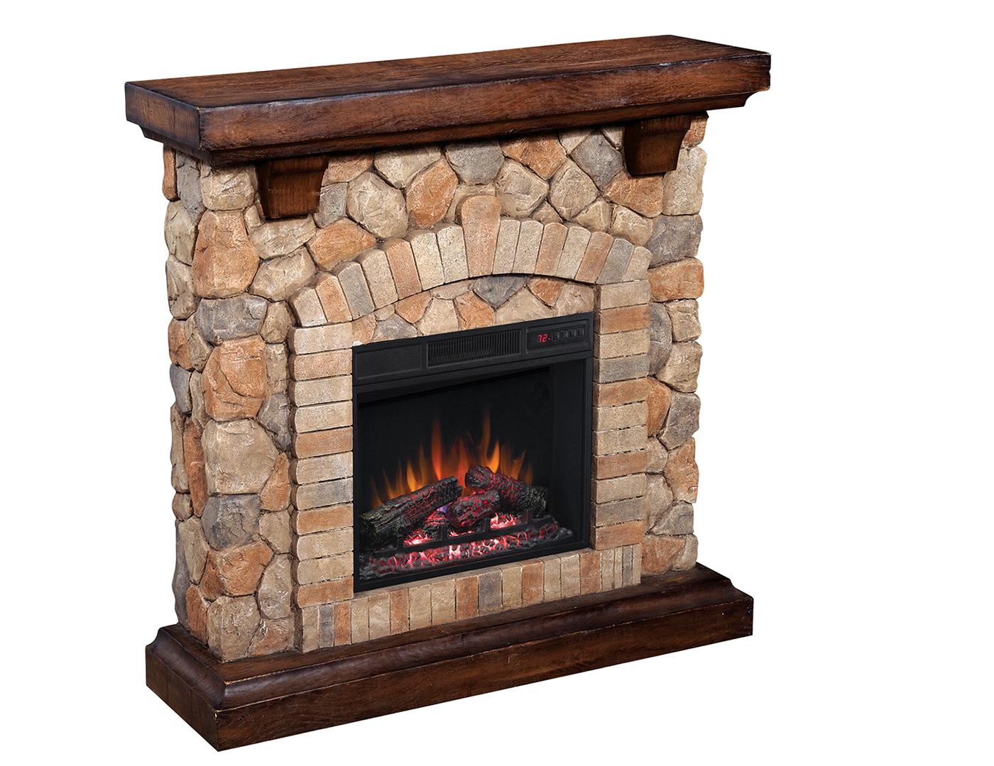 Fieldstone Fireplace Product : Steinhafels austin fireplace