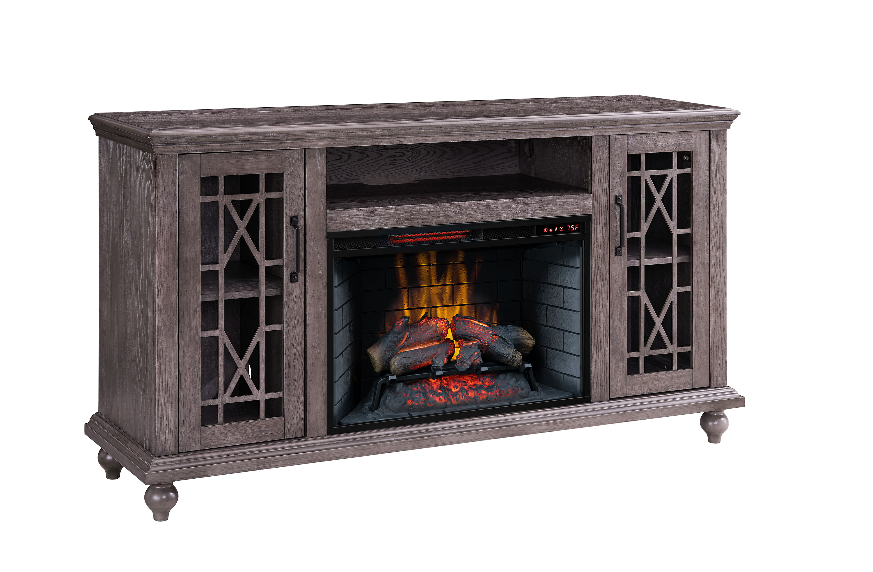 "Greenpoint 62"" Fireplace"