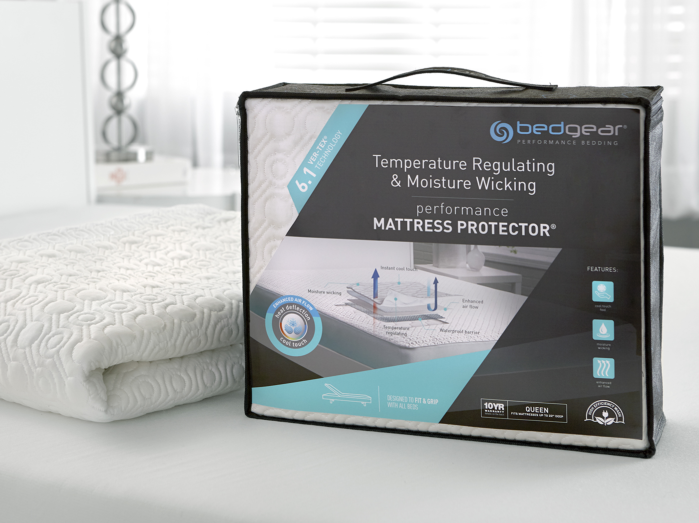 6.1 VerTex Cooling King Mattress Protector