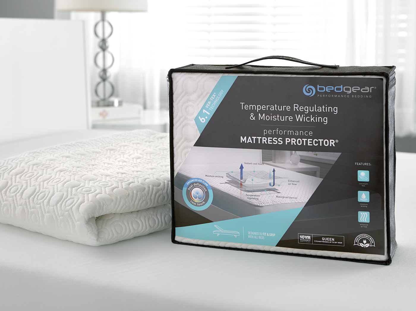 6.1 VerTex Cooling Full Mattress Protector