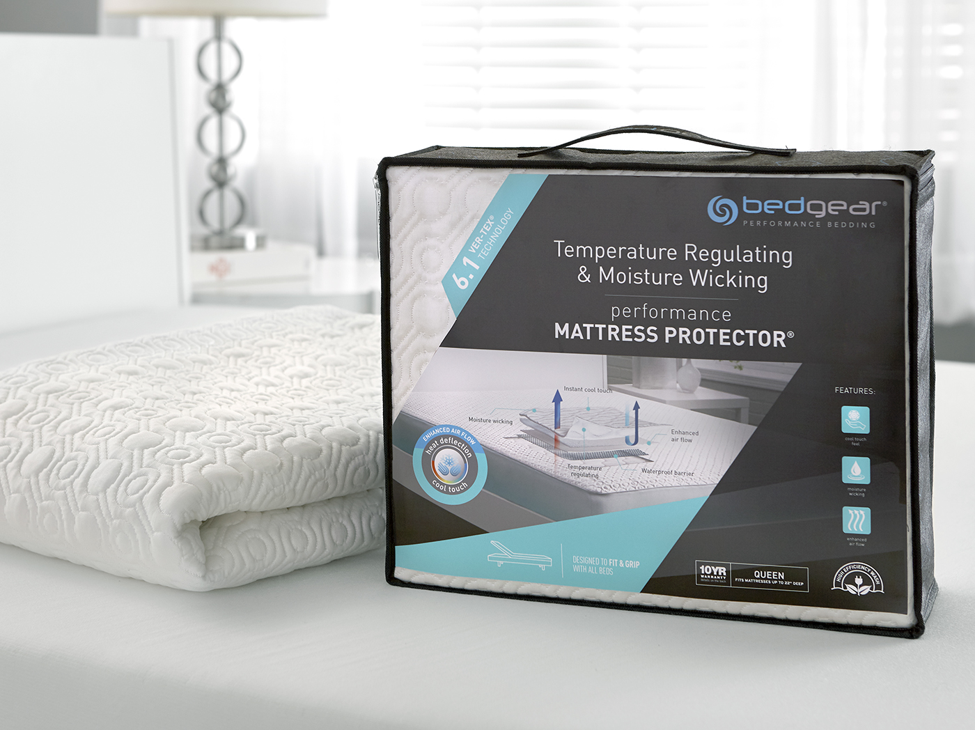 6.1 VerTex Cooling Twin XL Mattress Protector