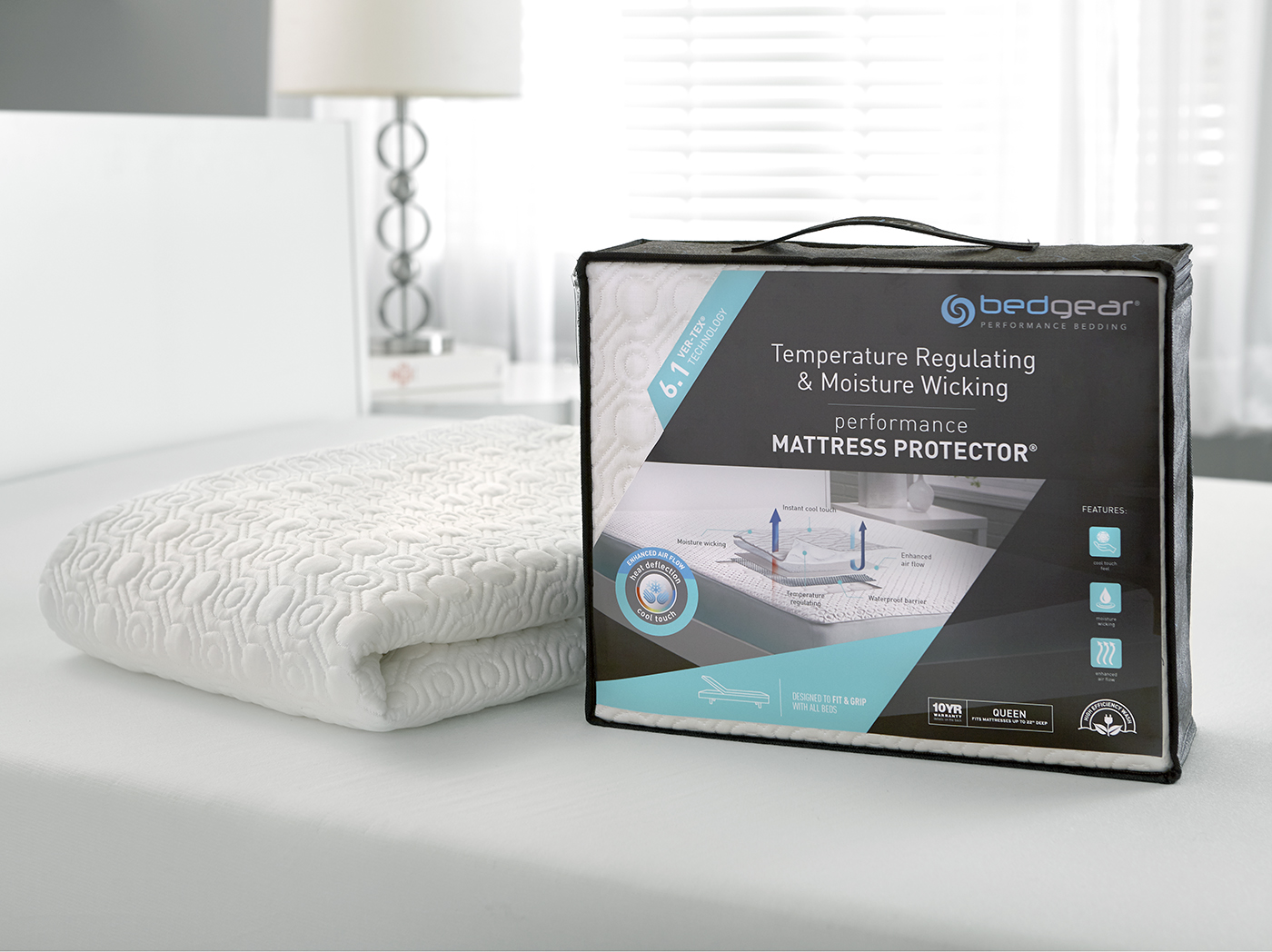 6.1 VerTex Cooling Queen Mattress Protector