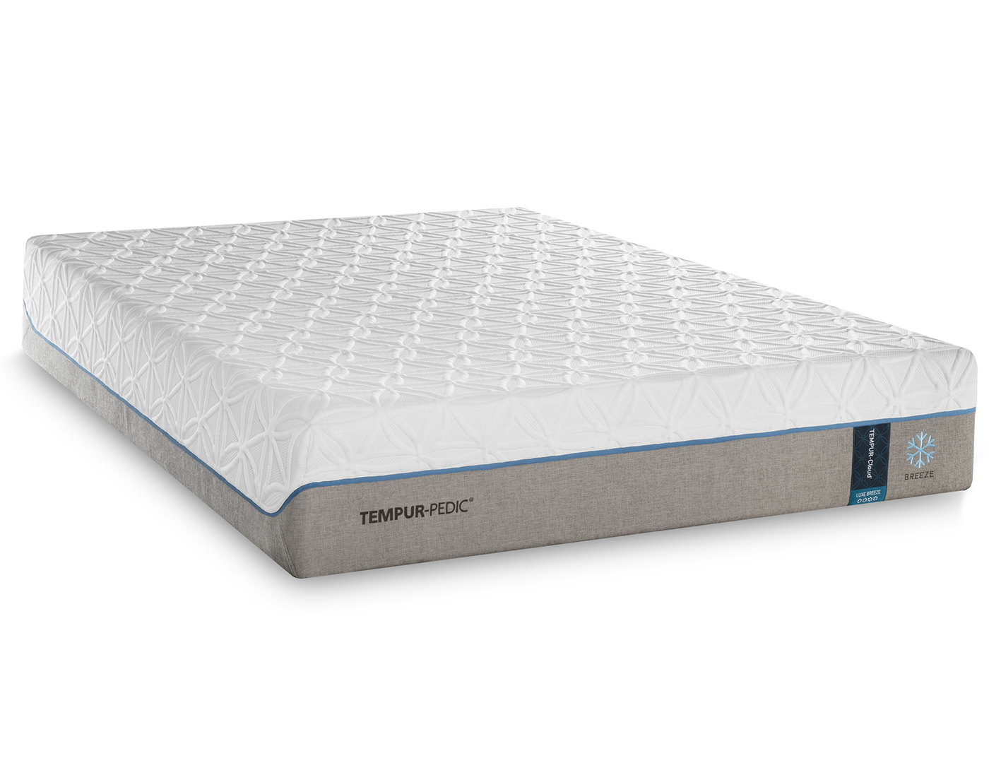 Tempur Flex Supreme Breeze King Mattress Steinhafels