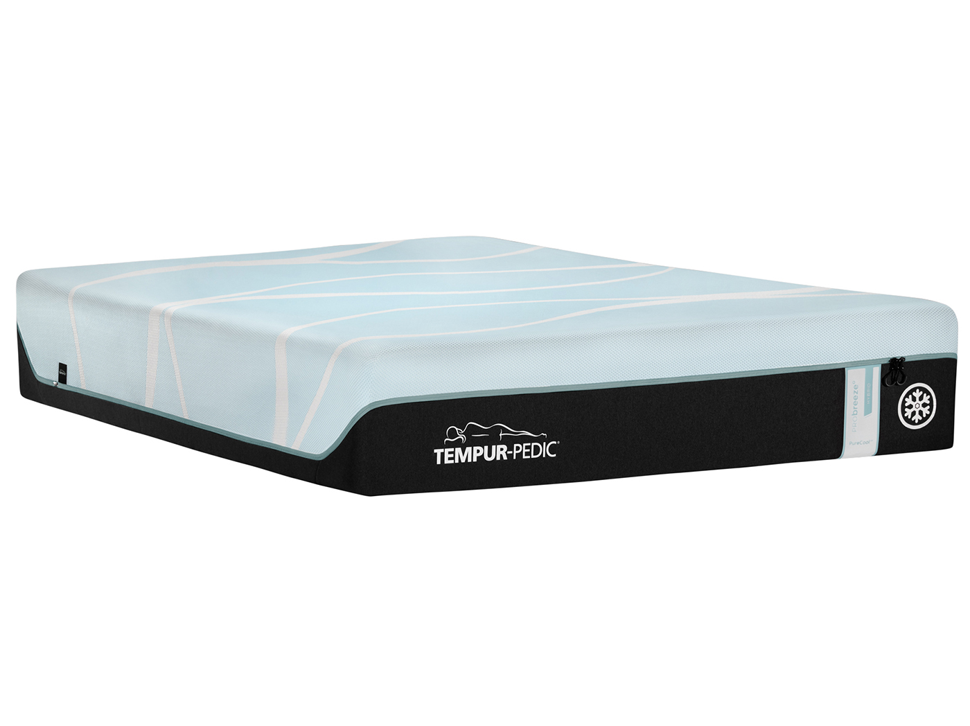 TEMPUR-PRObreeze Medium Hybrid Queen Mattress