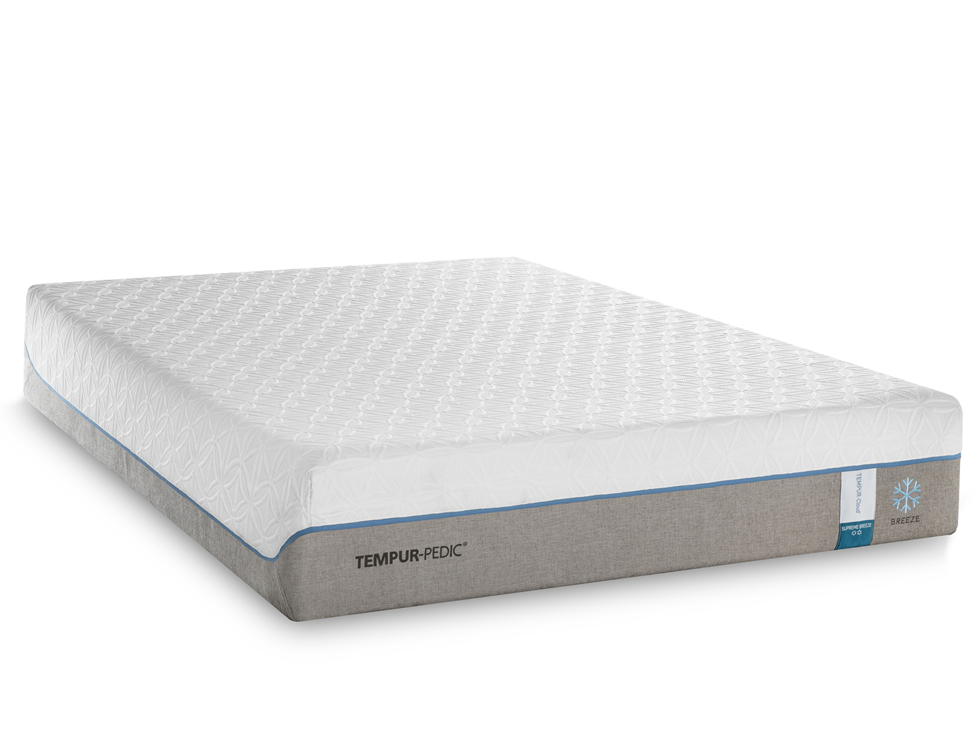 TEMPUR-Cloud Supreme Breeze King Mattress