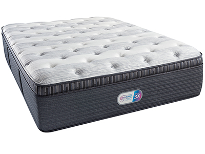 Steinhafels Beautyrest Platinum Hillmont Court Luxury Firm Pillowtop Queen Mattress