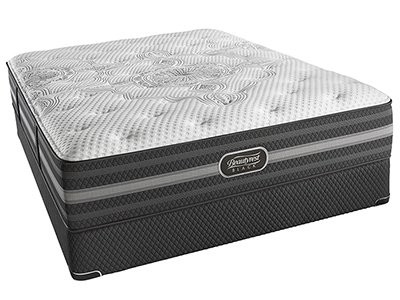 Beautyrest Black Desiree Plush Queen Mattress