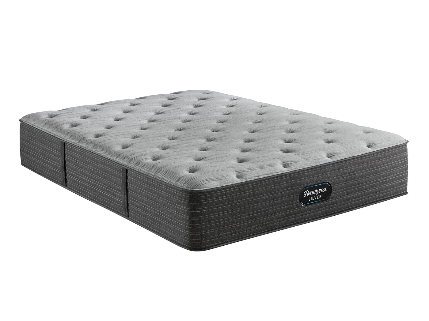 About California Queen Mattress Beautyrest Silver BRS900C-RS Medium Twin Mattress