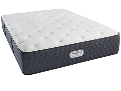 Beautyrest Platinum Duval Trace Plush Queen Mattress