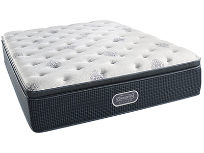 Beautyrest Silver Palm Springs Luxury Firm Pillowtop King Mattress