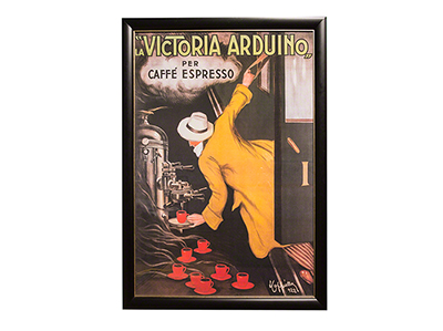 "Victoria Arduino Framed Poster Print 41""W x 54""H"