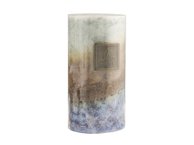 Large Brazilian Rain Candle 3X6""