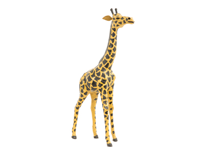 Leather Giraffe 12""