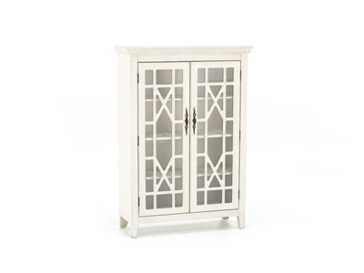 Bayberry Cream Display Cabinet