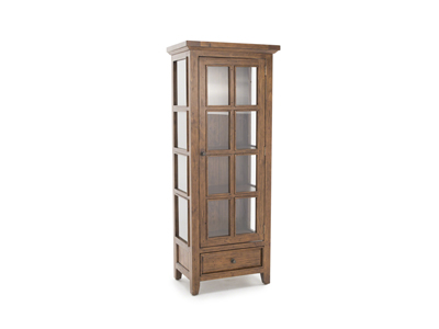 Tuscan Retreat Oxford Single Display Cabinet