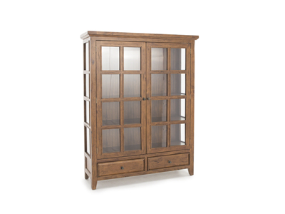Tuscan Collection Oxford Double Display Cabinet