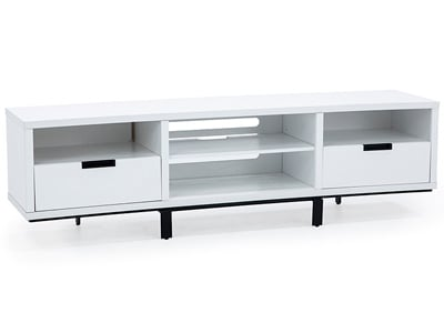Wynwood White Entertainment Console