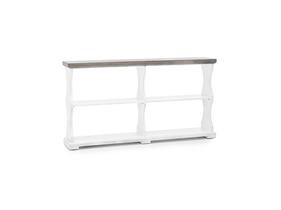 Farmhouse Locksmith Console Table