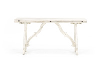 Orchard White Fold Out Console Table