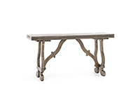 Orchard Brown Fold Out Console Table