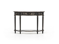 Black Palatine Console Table