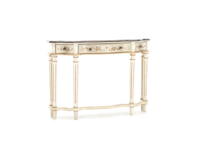 Cream Palatine Console Table