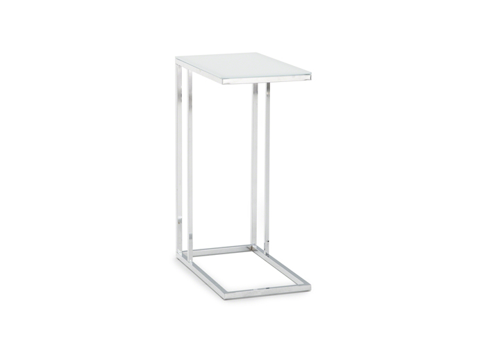 "Frosted Glass ""C"" Table"