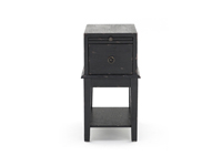 Black Tray Accent Table