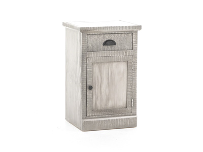 American Grey Chairside Table