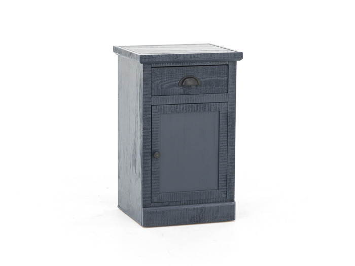 Oceanside Blue Chairside Table