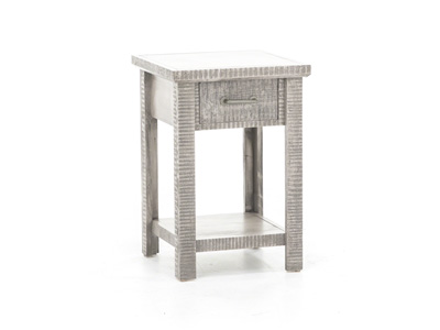 American Grey End Table